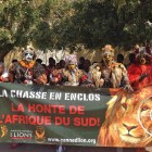 The Global March for Lions provided the platform for launching public outrage. This march was in Senegal