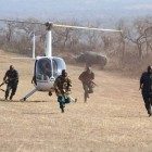 An anti-poaching simulation in Hluhluwe-iMfolozi Park in 2014. The SADC report raises various concerns about the escalating killing of wildlife in Southern Africa